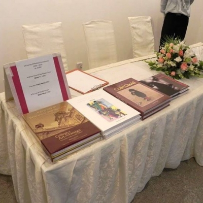 THE COLLECTIVE LAUNCH OF TWO BOOKS